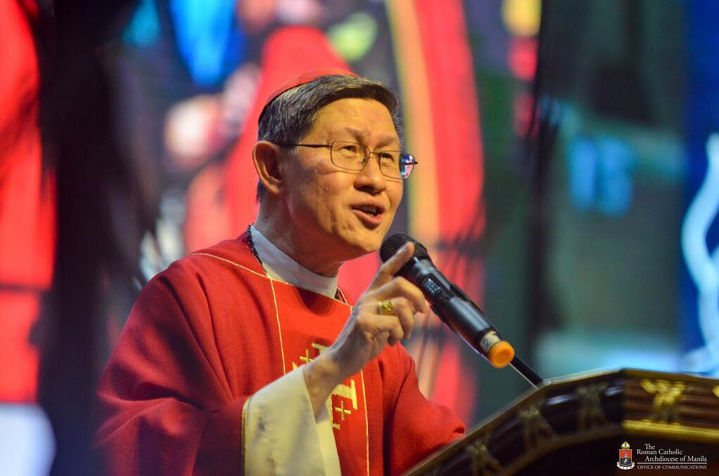 Pope Francis appoints Cardinal Tagle as member of Oriental Churches congregation