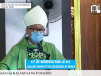 FULL-TEXT | Homily of Bishop Broderick S. Pabillo, Auxiliary Bishop of Manila during online Sunday Mass at Santa Clara de Montefalco Parish in Pasay on June 27, 2021, at 10 am