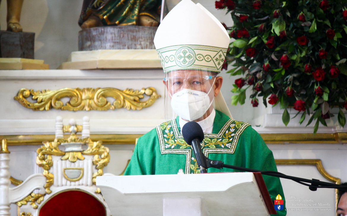 FULL TEXT | Homily of Jose F. Cardinal Advincula, Archbishop of Manila during Mass at the Mary, Comforter of the Afflicted Parish in Pasay on June 27, 2021, at 10 am
