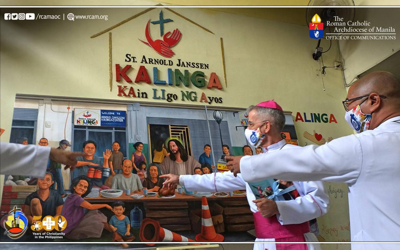 Kalinga Center for the poor in Manila Celebrates 6th year