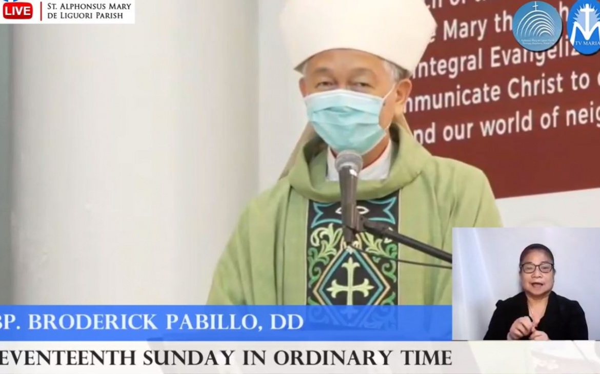 FULL TEXT   Homily delivered by Most Rev. Broderick S. Pabillo, Bishop-elect of the Vicariate of Taytay, Palawan at the St. Alphonsus Mary de Liguori Parish on July 25, 2021, at 10 a.m.
