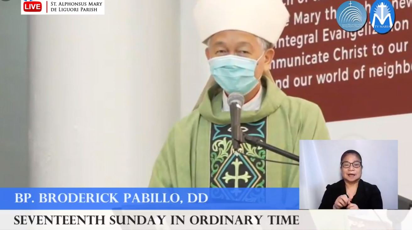 FULL TEXT | Homily delivered by Most Rev. Broderick S. Pabillo, Bishop-elect of the Vicariate of Taytay, Palawan at the St. Alphonsus Mary de Liguori Parish on July 25, 2021, at 10 a.m.