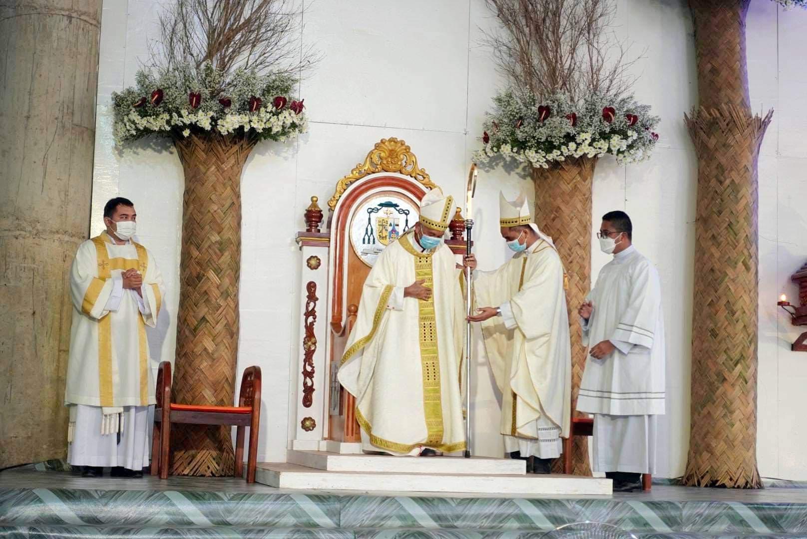 Bishop Pabillo installed as Vicar Apostolic of Taytay, Palawan