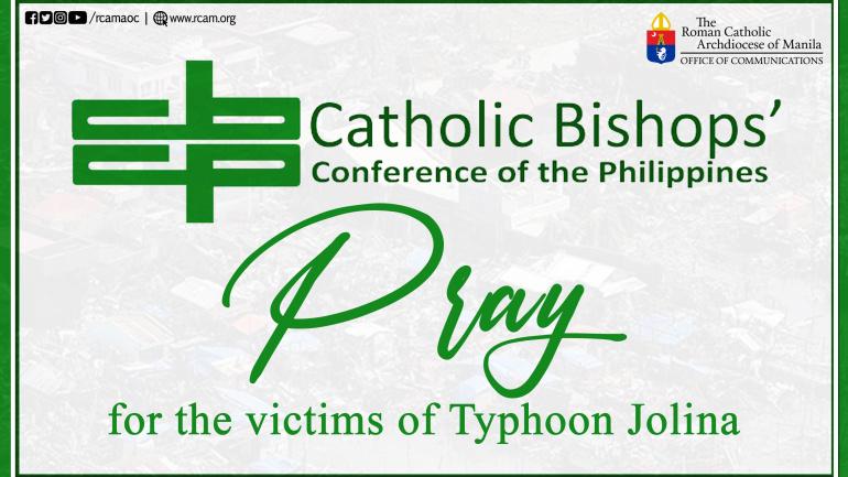CBCP: Pray for the victims of Typhoon Jolina