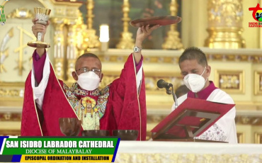 New Bishop of Malaybalay Installed