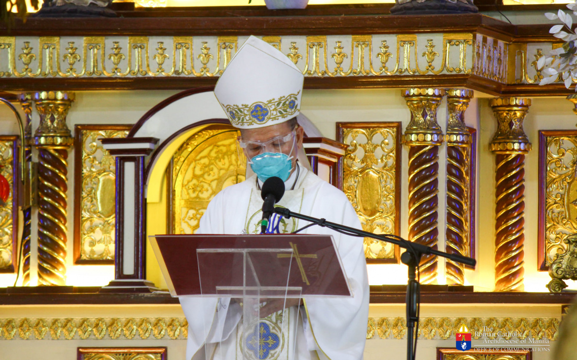 FULL TEXT   Homily delivered by Manila Archbishop Jose F. Cardinal Advincula during Mass for frontliners at the San Felipe Neri Parish on September 15, 2021, at 9 a.m.