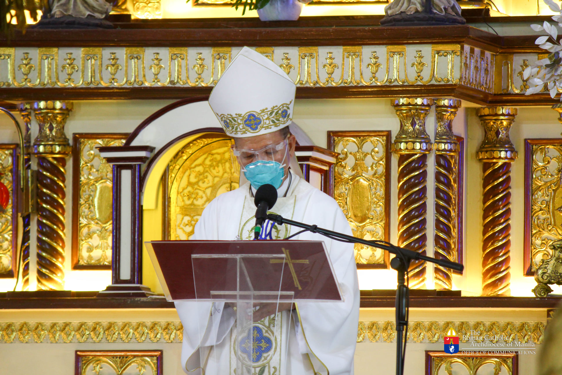 FULL TEXT | Homily delivered by Manila Archbishop Jose F. Cardinal Advincula during Mass for frontliners at the San Felipe Neri Parish on September 15, 2021, at 9 a.m.
