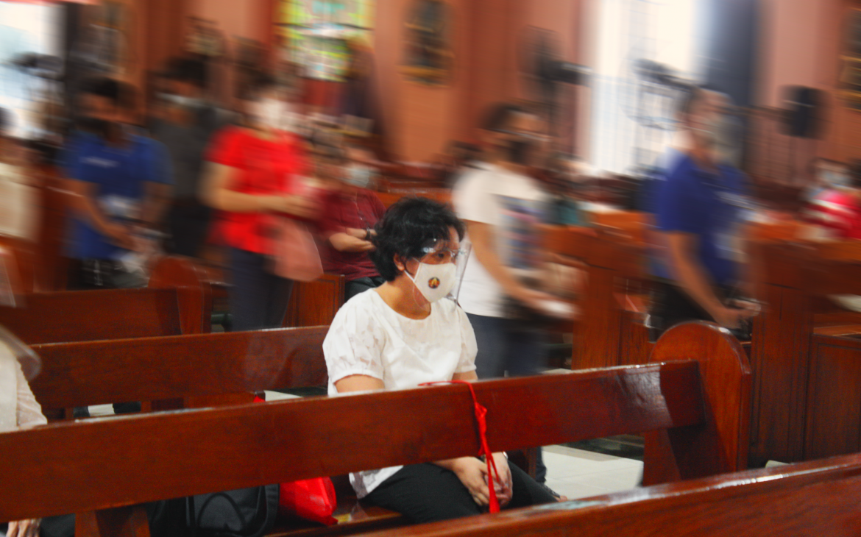 """Miracle Child"" healed through San Lorenzo Ruiz's intercession attends Binondo Feast Day Mass"