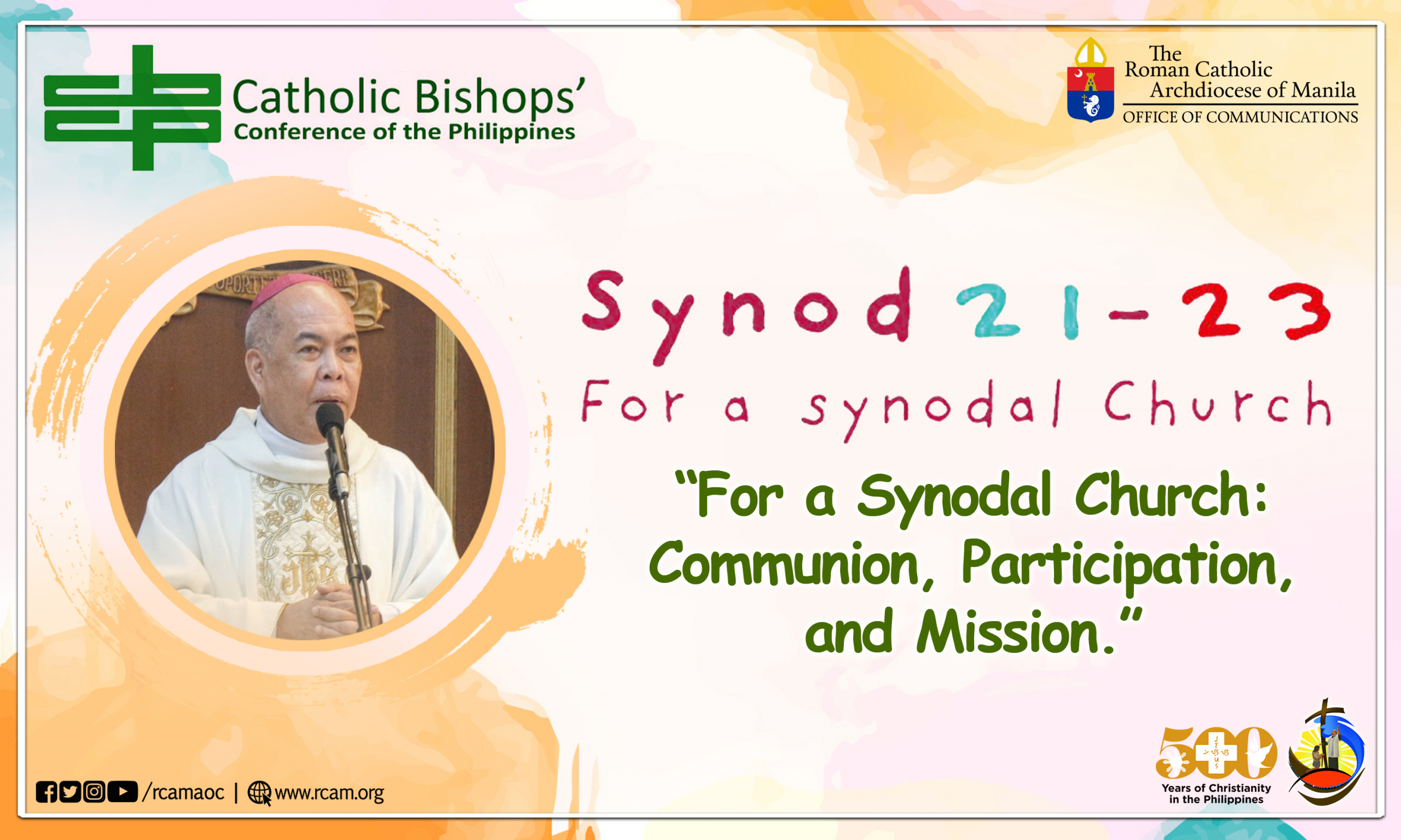 Philippine Dioceses launch consultations for 2023 Synod on Synodality