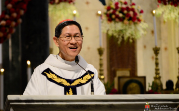 Antidote to hunger for power is desiring to serve the good of others–Cardinal Tagle